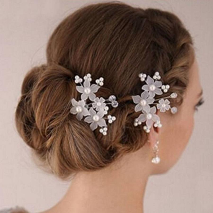 Hairpin - Eye Catcher Flowers & Pearls-4