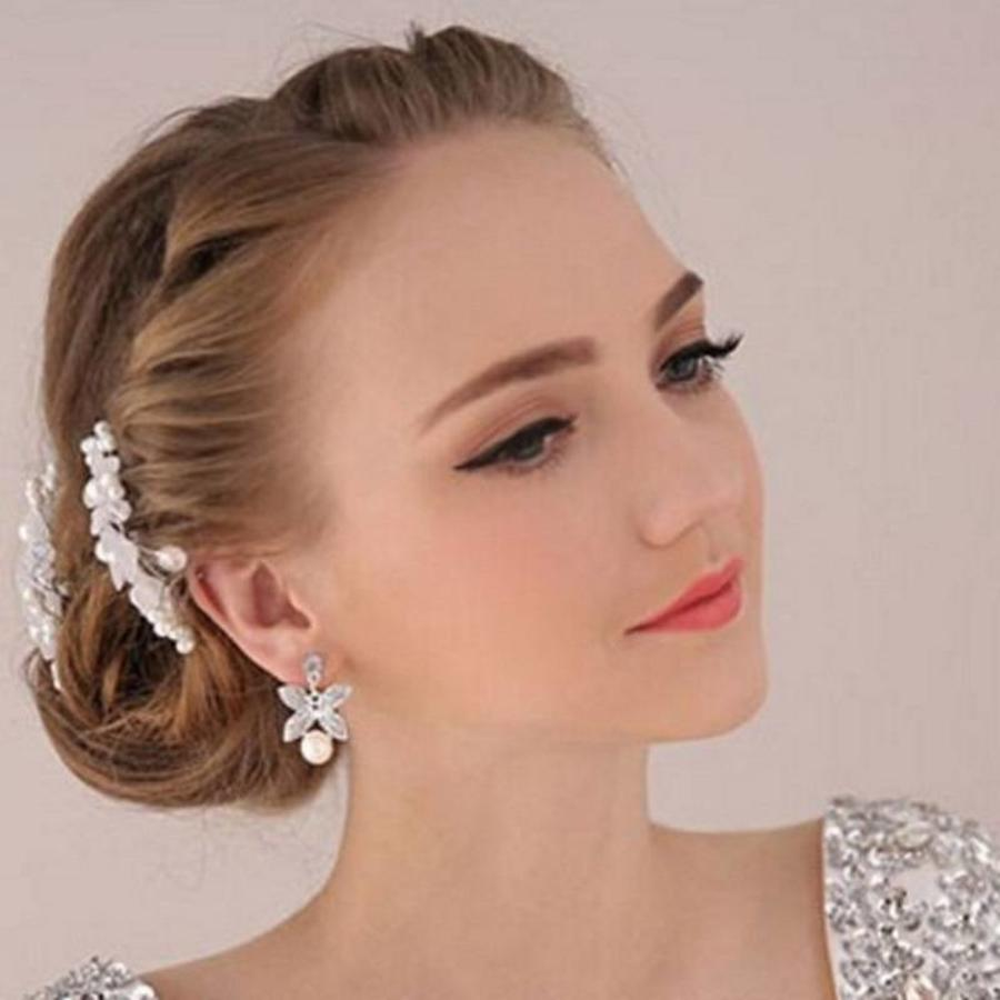Hairpin - Eye Catcher Flowers & Pearls-3