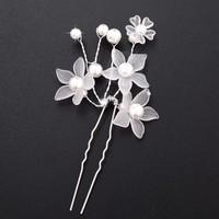 thumb-Hairpin - Eye Catcher Flowers & Pearls - 5 Stuks-5