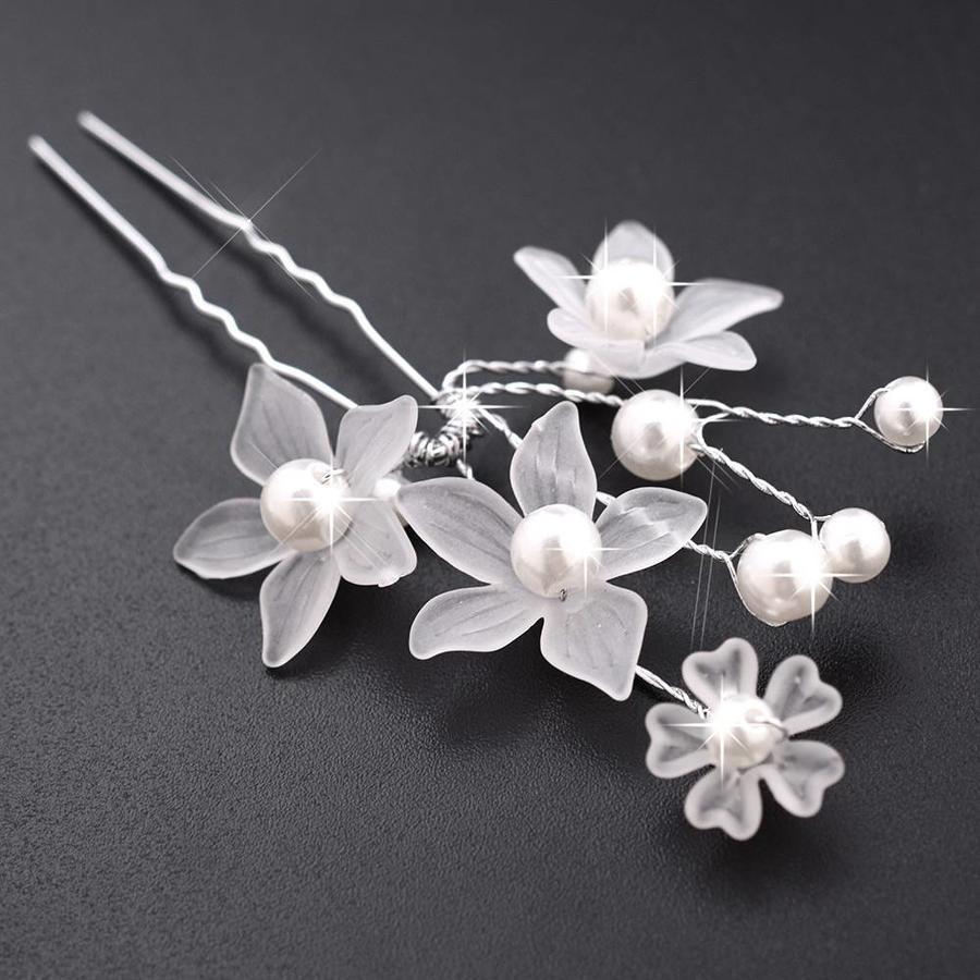 Hairpin - Eye Catcher Flowers & Pearls - 5 Stuks-6