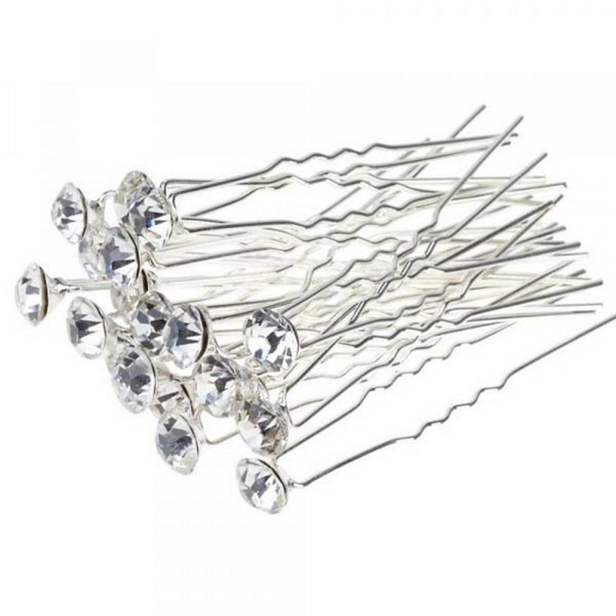 Hairpin - Strass Diamant - 5 stuks-2