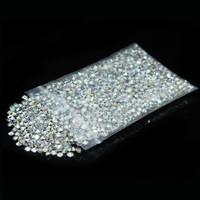 thumb-Decoratie Steentjes - Diamantjes - Zilver - 1000 stuks-1