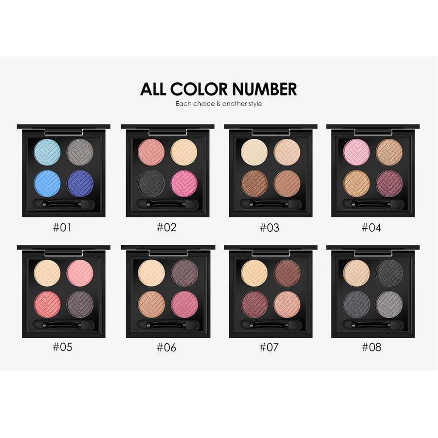 Palette Oogschaduw Make-Up Set - Color 04-3