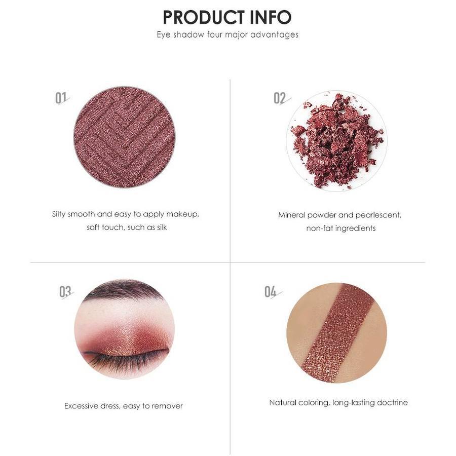 Palette Oogschaduw Make-Up Set - Color 08-9
