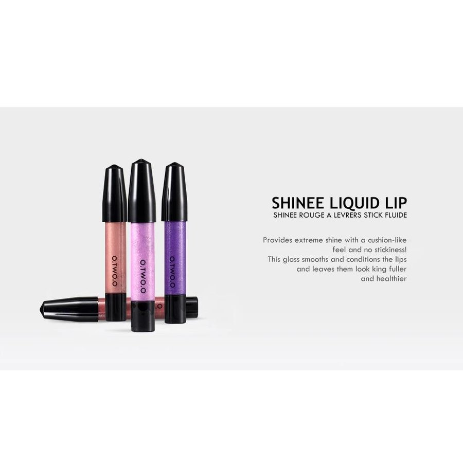 High Shimmer Liquid Lip Gloss- Color 04-7