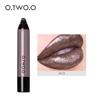 thumb-High Shimmer Liquid Lip Gloss- Color 12-1