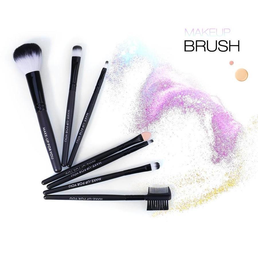 Make-up Brush Set Professional - 7 stuks -  Inclusief Tasje-2