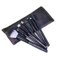 thumb-Make-up Brush Set Professional - 7 stuks -  Inclusief Tasje-7