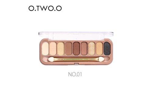 Palette Oogschaduw Make-Up Set 9 kleuren - Color 01