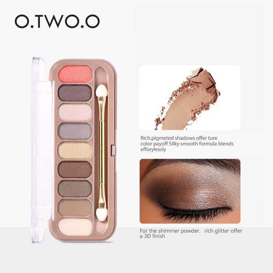 Palette Oogschaduw Make-Up Set 9 kleuren - Color 02-4