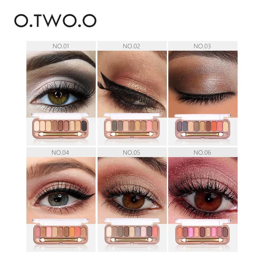 Palette Oogschaduw Make-Up Set 9 kleuren - Color 02-3