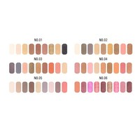 thumb-Palette Oogschaduw Make-Up Set 9 kleuren - Color 02-2