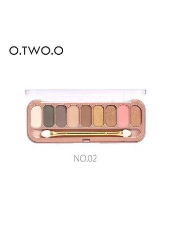 Palette Oogschaduw Make-Up Set 9 kleuren - Color 02