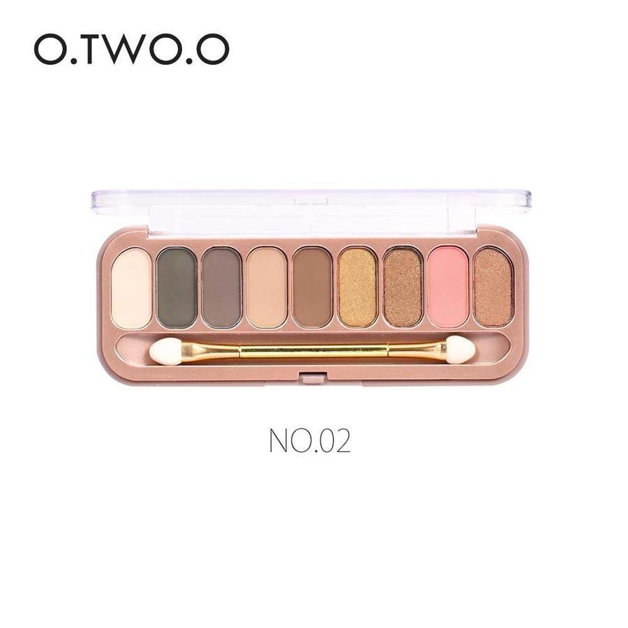 Palette Oogschaduw Make-Up Set 9 kleuren - Color 02-1