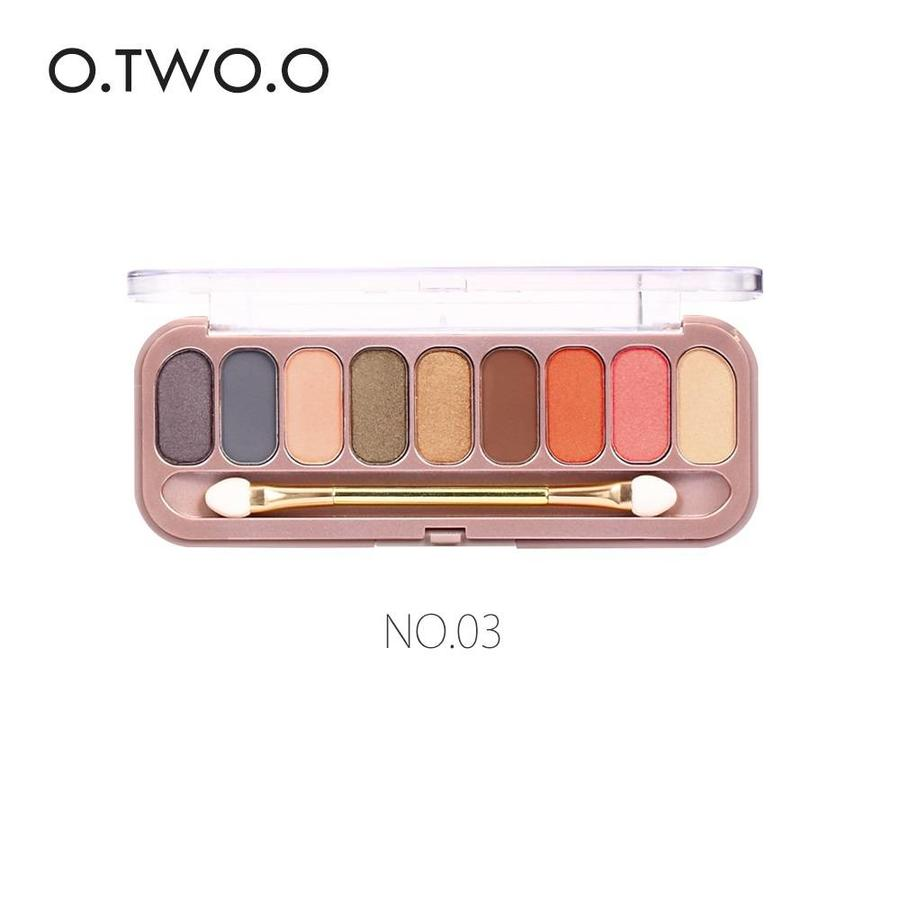 Palette Oogschaduw Make-Up Set 9 kleuren - Color 03-1