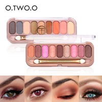 thumb-Palette Oogschaduw Make-Up Set 9 kleuren - Color 04-5
