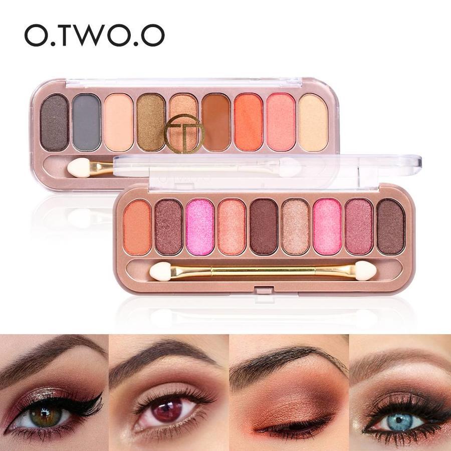Palette Oogschaduw Make-Up Set 9 kleuren - Color 04-5