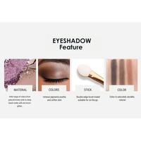thumb-Palette Oogschaduw Make-Up Set 9 kleuren - Color 04-6