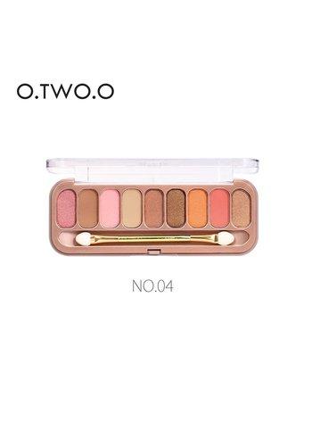 Palette Oogschaduw Make-Up Set 9 kleuren - Color 04