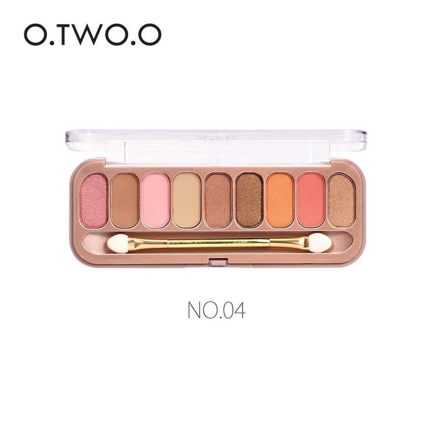 Palette Oogschaduw Make-Up Set 9 kleuren - Color 04-1