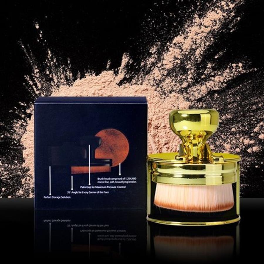 Perfecting Brush Penseel - Powder Brush - Roze-4