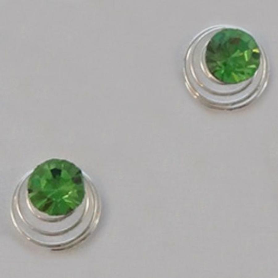 Groene Kristal Curlies - 6 stuks-6