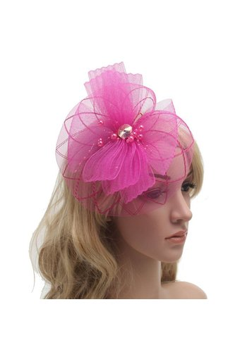 Chique Roze Fascinator