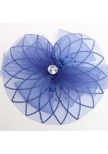 Chique Blauwe Fascinator