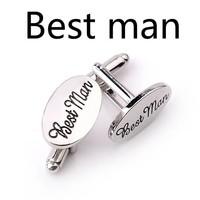 thumb-Manchetknopen in Geschenkdoos /  Getuige - Best Man-6