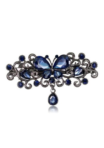 Chique Haarclip Butterfly - Blauw