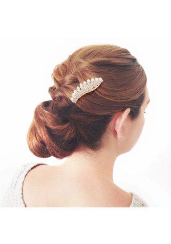 Elegante Goudkleurige Haarclip