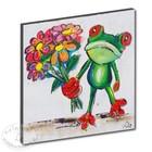 Art Print Frog flower