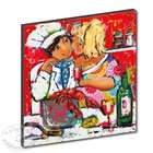 Art Print Big kiss