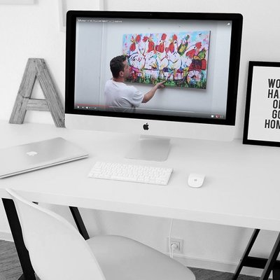 Videouitleg ophanging kunstdruk
