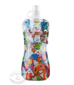 Vrolijk Schilderij Waterflesje Colorful Holland