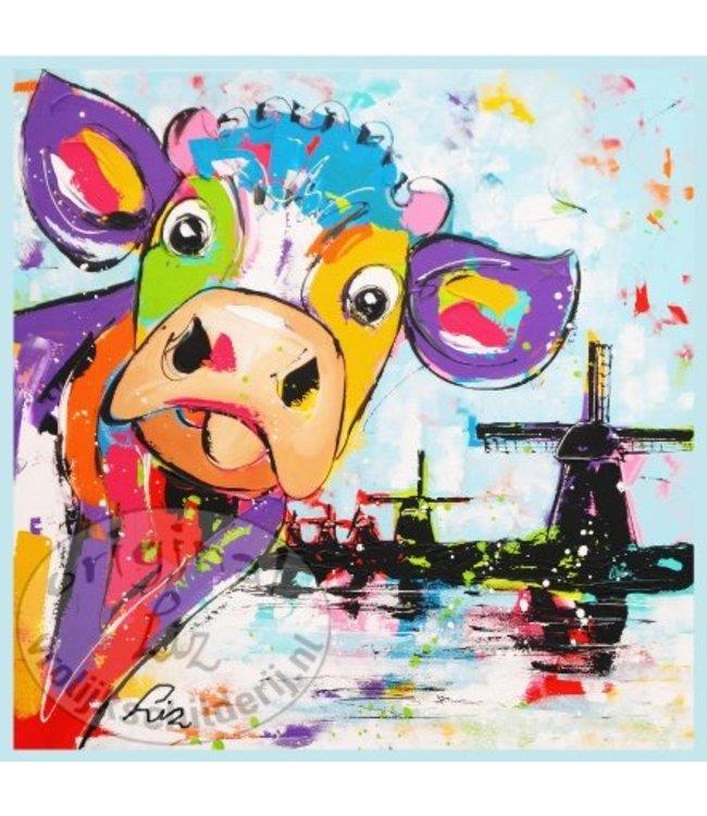"""Ansichtkaart """" Bertha Holland """" 15 x 15 cm"""