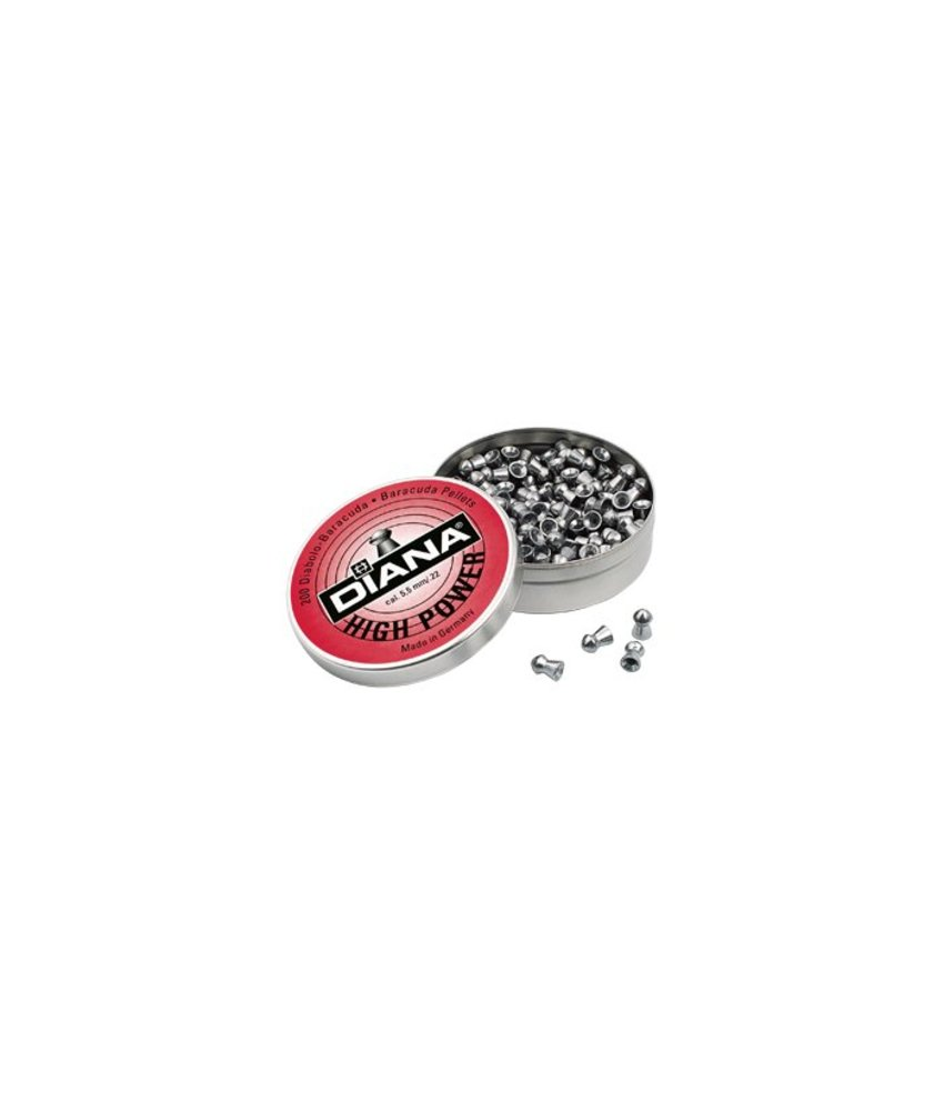 Diana High Power Baracuda 4.5mm Pellets 500pcs (0.69g)