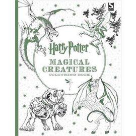 Bonnier Book Ltd. Harry Potter - Colouring Book Magical Creatures