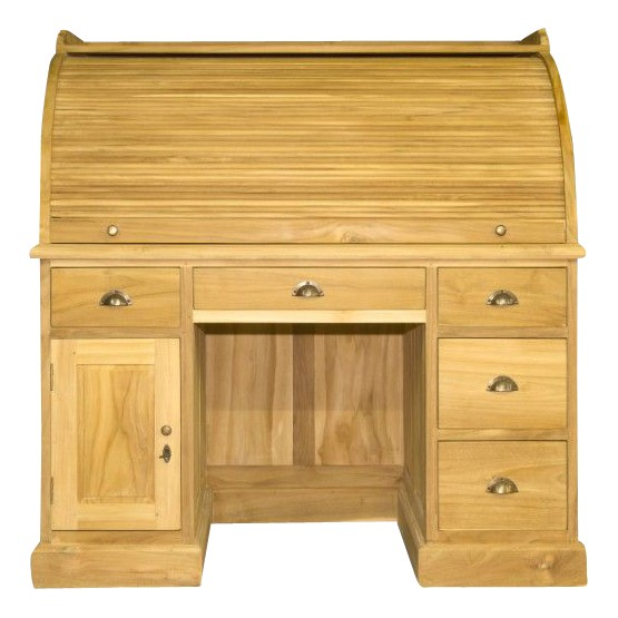 secr taire teak one. Black Bedroom Furniture Sets. Home Design Ideas
