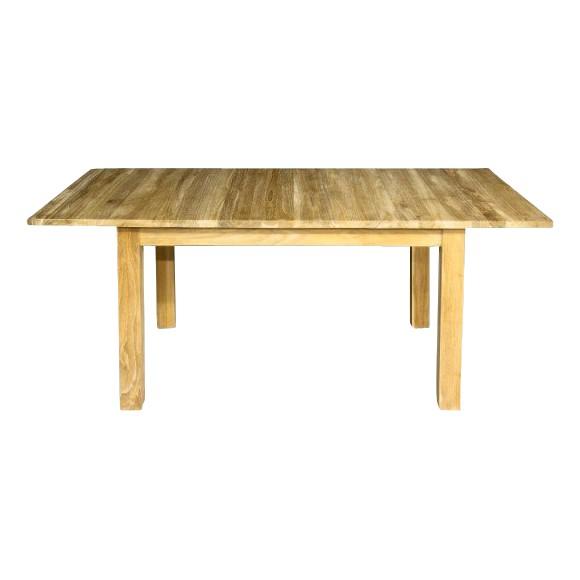 Togo uitrekbare tafel in teak teak one for Uittrekbare tafel