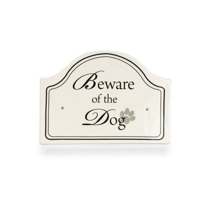 Designed by Lotte Ceramic Beware sign