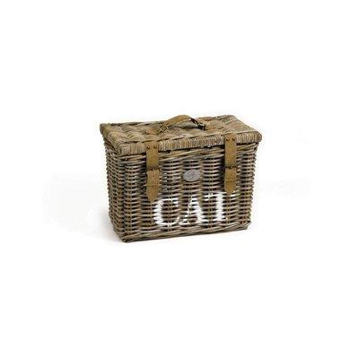 Designed by Lotte Kubu storage basket cat