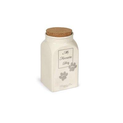 Designed by Lotte Ceramic canister dog