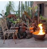 Sol-y-Yo Mexicaanse vuurschaal bruin 45 cm