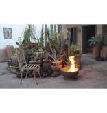 Sol-y-Yo Mexicaanse vuurschaal bruin 35 cm