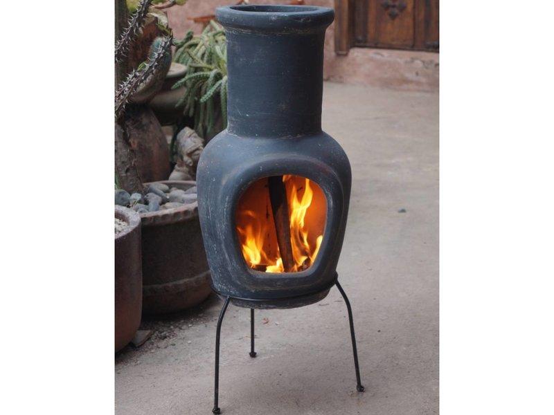 Sol-y-Yo Mexicaanse tuinhaard grijs 82 cm