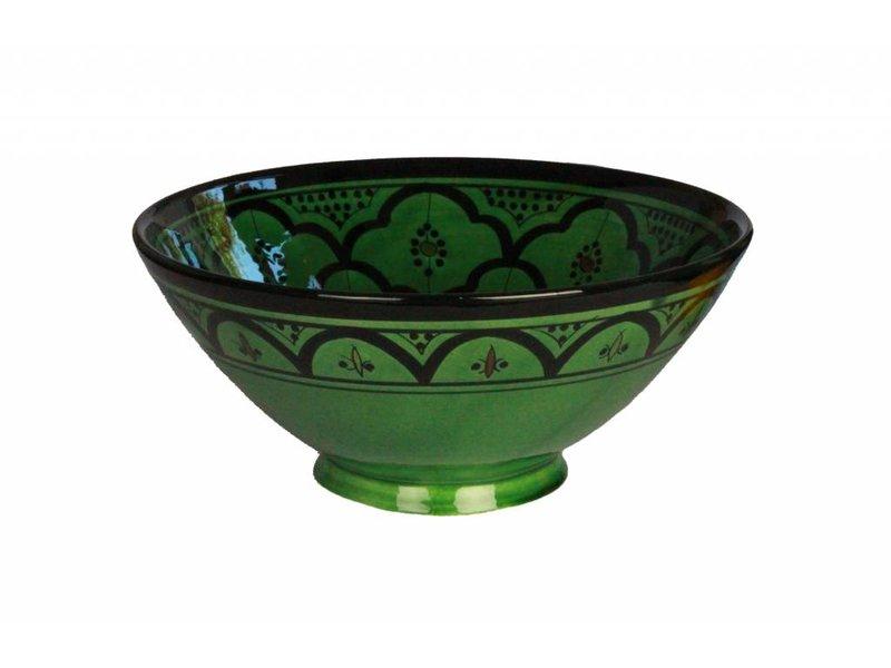 Marokkaanse kom groen 27 cm