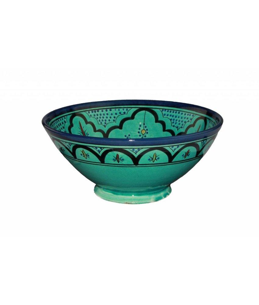 Marokkaanse kom aqua 27 cm