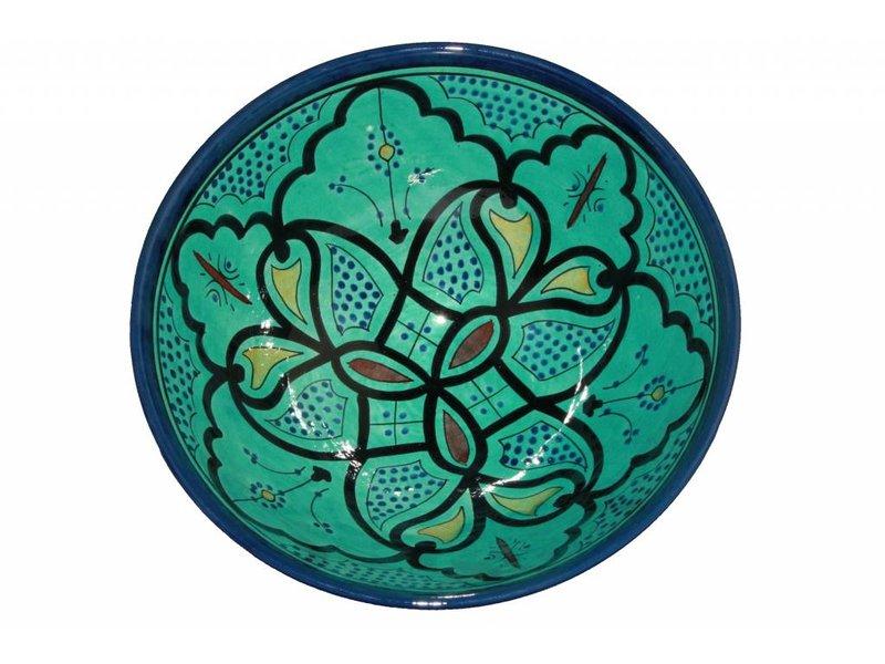 Marokkaanse kom aqua 30 cm