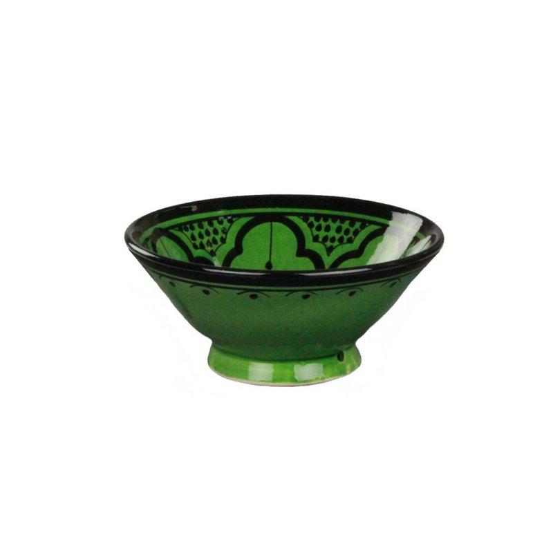 Marokkaans schaaltje groen 15 cm